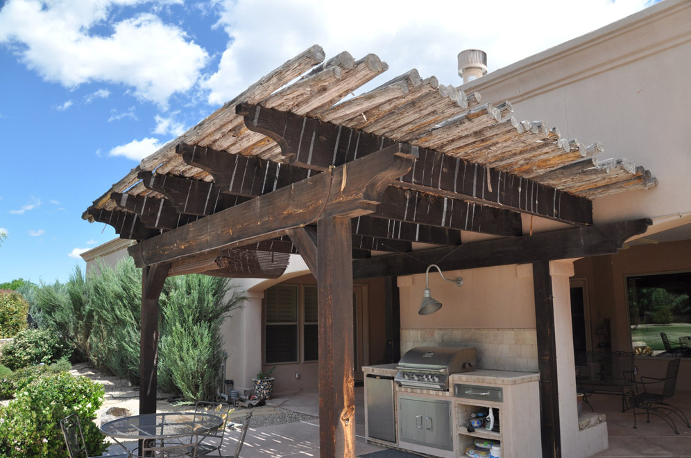 Las Cruces Timbers Trellis 1