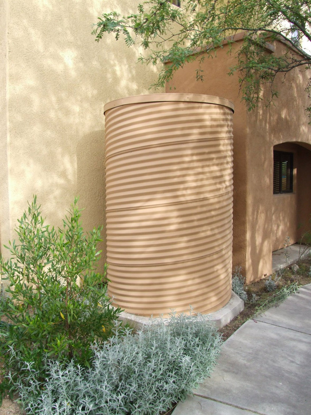 Sand Colored Cistern